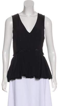 Prabal Gurung Sleeveless V-neck Top