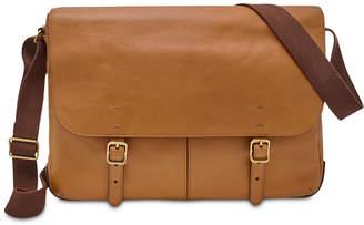d5cf8a685584 Tan Leather Mens Messenger Bag - ShopStyle