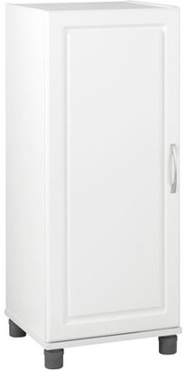 """Ameriwood SystemBuild 16"""" Stackable Storage Cabinet, White"""
