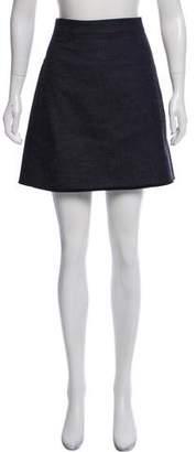 Victoria Beckham Denim Mini Skirt