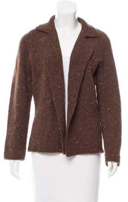 Amina Rubinacci Open Front Cashmere & Wool-Blend Cardigan