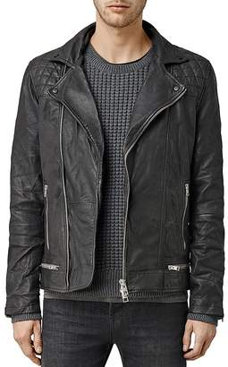 ALLSAINTS Conroy Leather Biker Jacket $650 thestylecure.com