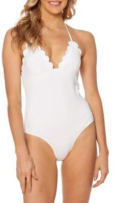 Jessica Simpson One-Piece Tie Back Swimsuit