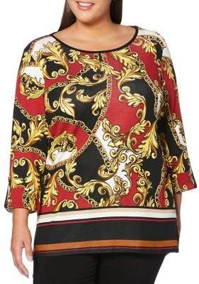Rafaella Plus Printed Tunic