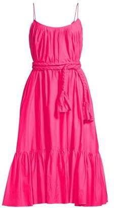 Rhode Resort Lea Ruffled Fit-&-Flare Midi Dress