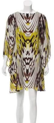 Leifsdottir Printed Silk Dress w/ Tags