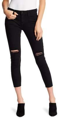 Miss Me Slit Solid Skinny Ankle Jeans
