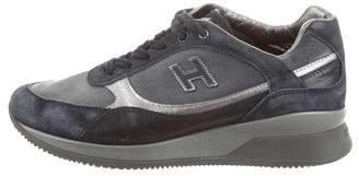 Hogan Suede Logo Sneakers