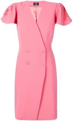 Elisabetta Franchi star detail dress