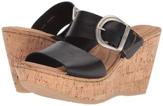 Børn Emmy Band Women's Wedge Shoes