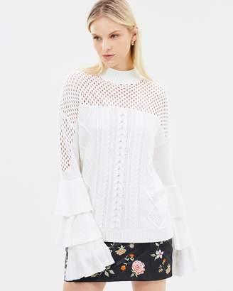 Asilio Sabran Layered Sleeve Sweater
