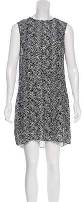 Jenni Kayne Silk Printed Mini Dress w/ Tags