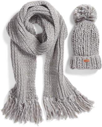 d05d266a47d Barbour Chunky Knit Hat   Scarf Set