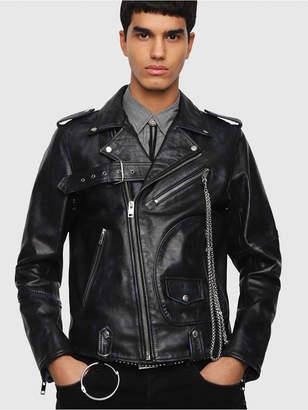Diesel Leather jackets 0AAUF - Black - S
