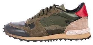 Valentino Rockrunner Low-Top Sneakers