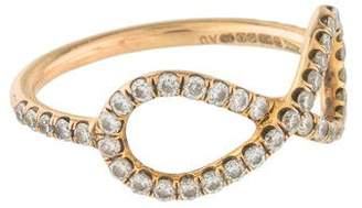Anita Ko 18K Diamond Infinity Ring
