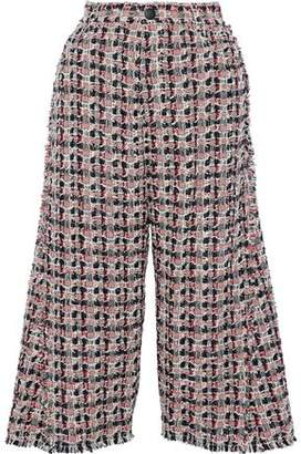 Sonia Rykiel Frayed Cotton-Blend Tweed Culottes