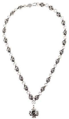 Chrome Hearts CH Cross #1 Cross Ball Necklace