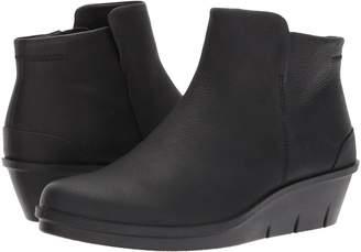 Ecco Skyler Wedge Bootie Women's Boots