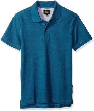 Lee Men's Size Lance Short Sleeve Polo