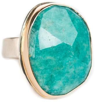 Jamie Joseph Assymetrical Amazonite Ring