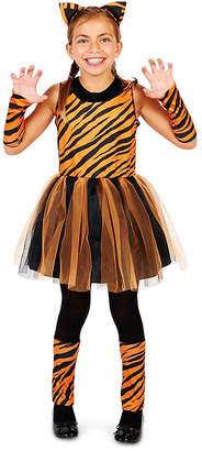 BuySeasons Cool Cat Tigeress Girl Little Little Girls Costume