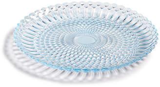 Vietri Viva by Parlor Glass Blue Salad Plate