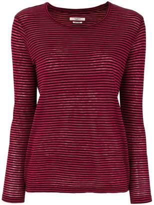 Etoile Isabel Marant striped long sleeve T-shirt