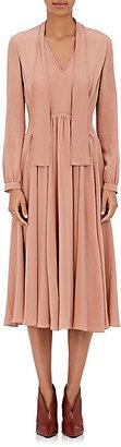 Derek Lam Women's Crepe Scarf-Neck Dress $2,295 thestylecure.com