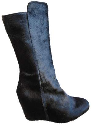 Lemaire Pony-style calfskin boots