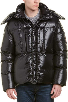 Moncler Glossy Quilted Down Jacket