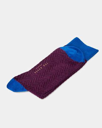 Ted Baker DONI Colour block cotton socks