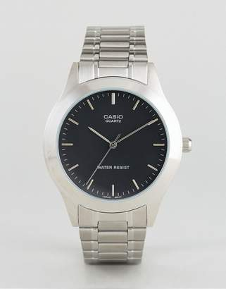 Casio Silver Stainless Steel Strap Watch MTP1128A-1A