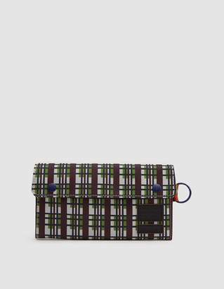 Marni Porter-Yoshida Long Wallet in North Sea