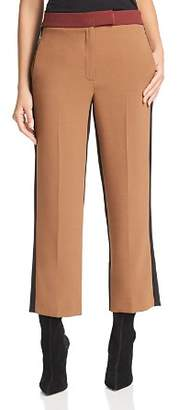 Marella Roma Cropped Color-Blocked Pants