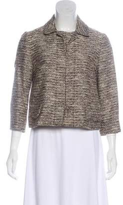 Chloé Tweed Cropped Blazer