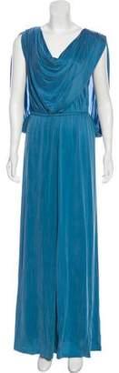 Temperley London Draped Evening Dress