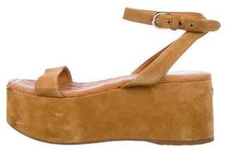 Chanel 2015 Flatform Sandals