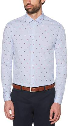 Original Penguin Blue Floral Dress Shirt