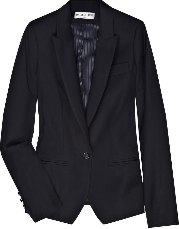 Paul & Joe Cercle wool-blend blazer