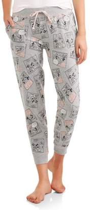 Disney Mouse Women's and Women's Plus Sleep Jogger Pant