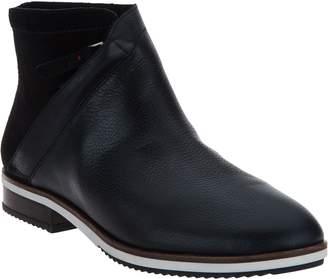 ED Ellen Degeneres Leather Ankle Boots - Zaina