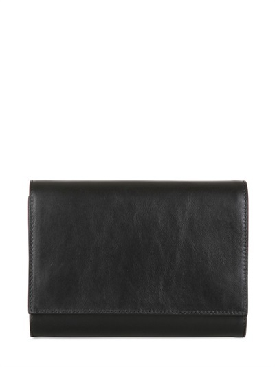 Jenny Two Tone Leather Shoulder Bag
