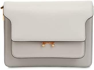 Marni Medium Trunk Smooth Leather Bag