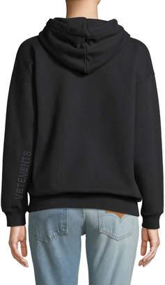 Vetements Weekend Slogan Hoodie Sweatshirt