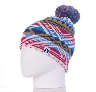 fb5bd13bb K-nit Cormack Merino Wool Nava Say Nava Beanie Hat Unisex