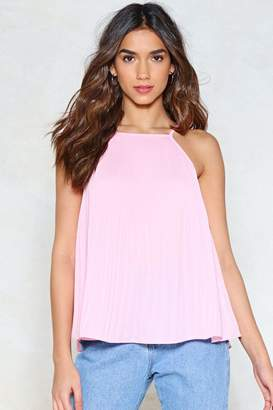 Nasty Gal Pleat You There Cami Top