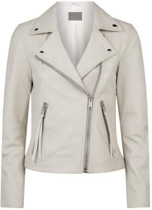 AllSaints Leather Dalby Biker Jacket