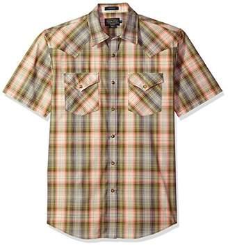 Pendleton Men's Short Sleeve Button Front Frontier Shirt