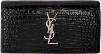 Saint Laurent Monogram Wallet Black